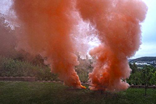 PYROWEB.DE Pyrorauch XL800 orange - Rauchpatrone/Jumbo Rauch