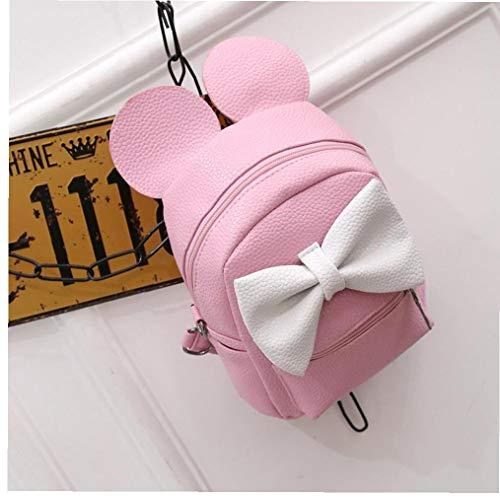 Frau Rucksack Grenze Ermäßigungen Mini Mädchen-Beutel-Frauen-Rucksack PU-Leder-Mode-Mädchen Rucksäcke Kleine Nette Heiße Farbe -