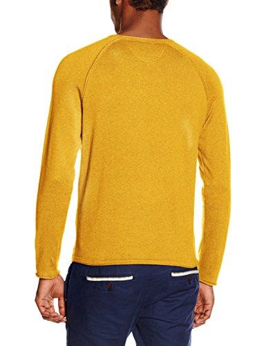 Marc O'Polo 627504860638, Pull Homme Orange (mustard melange 259)