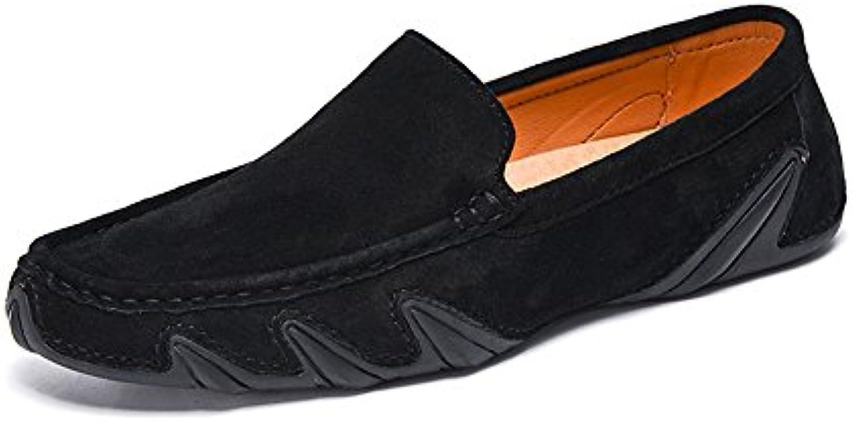 ZX Müßiggänger Schuhe  Freizeit Art  die Penny Mokassins Echtes Leder Weiche Gummisohle Boots Müßiggänger fürMüßiggänger Schuhe Freizeit Art Penny Mokassins Echtes Leder Weiche Gummisohle Boots Müßiggänger