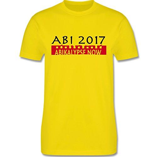 Abi & Abschluss - Abikalypse 2017 - Herren Premium T-Shirt Lemon Gelb