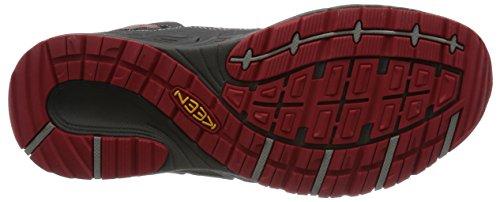 Keen escursioni scarpe, Versa fujisetsu M Rosso (MAGNET/RACING RED)