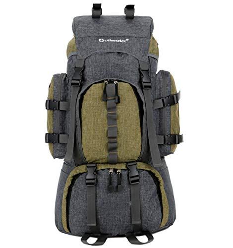Skudy grande impermeabile zaino viaggio outdoor nylon zaino arrampicata uomo multiuso zaino montagna casual sportiva backpack