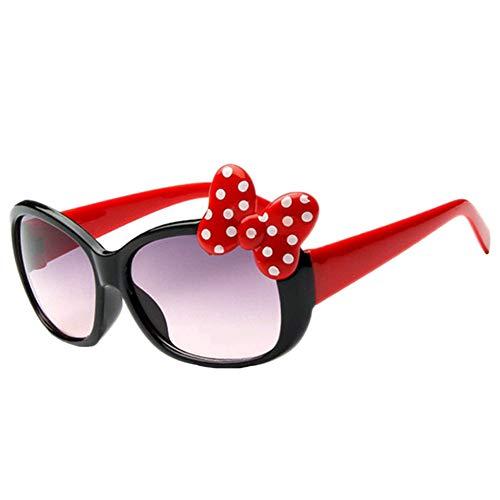 Aisoway Kinder Goggle Mädchen Legierung Sonnenbrille heiße Art und Weise Jungen-Mädchen-Baby-Kind-Classic Retro nette Sun Glasses