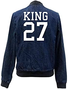 King 27 Bomber Chaqueta Girls Jeans Certified Freak