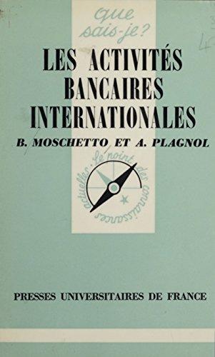 Les Activités bancaires internationales