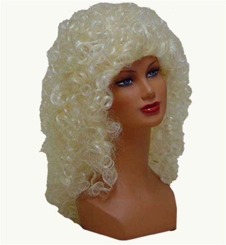 Perücke Mary blond mit Locke (Perücken Curley)