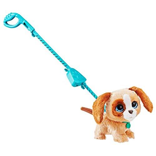 Hasbro FURREAL Friends E4780ES2 Großer Racker Luna, niedlicher Hund für tollen Gassi-Spaß