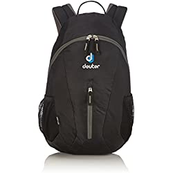 Deuter City Light Mochila Urbana, Unisex adulto, Negro (Black), Ăšnica