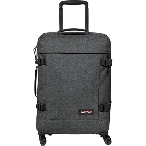 Eastpak - Trans4 S - Bagage à roulettes - Black Denim - 44L