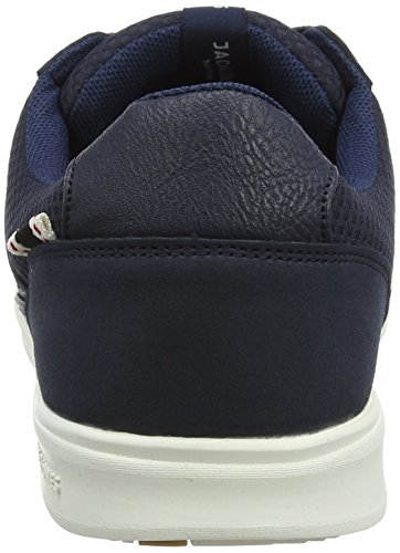 Jack & Jones Jfwrayne Mesh Mix Navy Blazer, Sneakers Basses Homme Bleu (Navy Blazer)