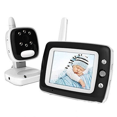 Miarui Baby Überwachungskamera Digital kabellose Video babyphone Schlafmodus Nachtsicht Temperatursensor Schlaflieder Zwei-Wege-Gespräch 200m Signalreichweite