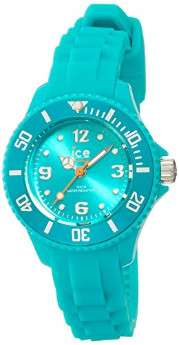 ICE-Watch SI.TE.M.S.13 Ice Forever  - Wristwatch Unisex, Silicone, Band Colour: Turquoise