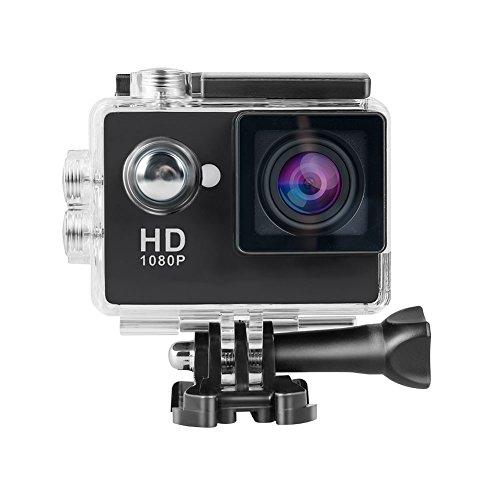 Topjoy 1080p Full HD 2,0 Zoll Bildschirm wasserdicht Sport Action Kamera 140 Grad breiten Winkel Cam DV 12MP DVR Helm Kamera Sport-DV-Camcorder