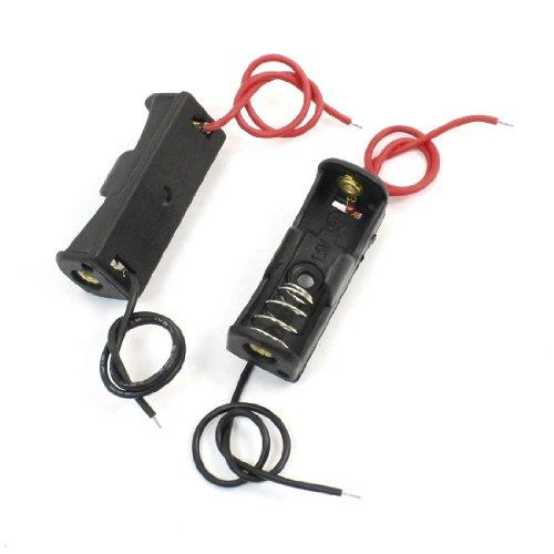 2x Plastik Batterien Schutzhülle Halterung Feder Clip für 1x 23A/12V N Akku