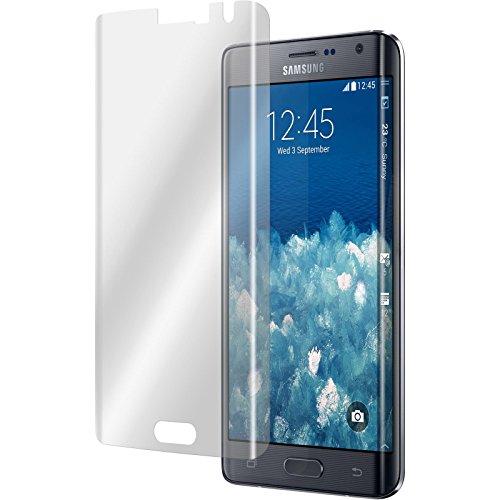 4 x Samsung Galaxy Note Edge protector de pantalla claro curved Películas Protectoras