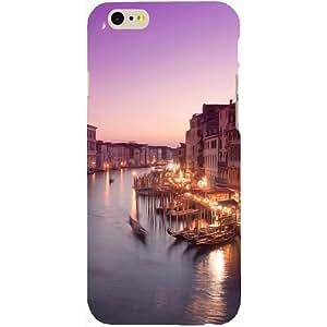 Casotec Venice Design Hard Back Case Cover for Apple iPhone SE
