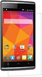 zZeonee 2.5d curved edge, 9H hardness, tempered glass screen prtector for Micromax Canvas Play 4G