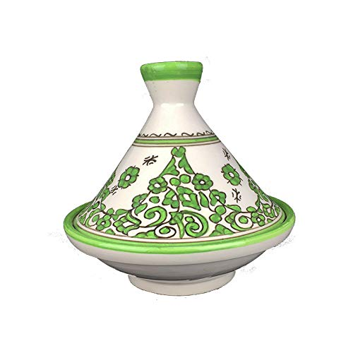 Artisanat Vulcano Tajine tagine Marocain en céramique Peinte à la Main de FES
