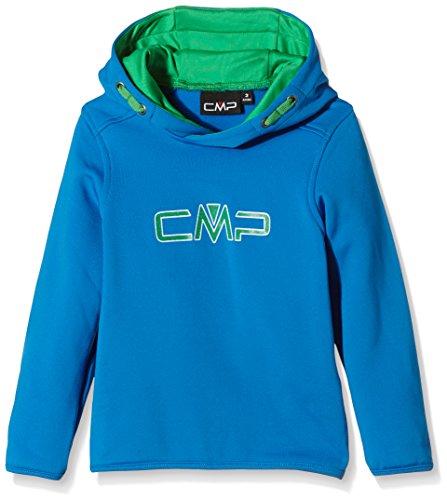 CMP F.lli Campagnolo - Felpa con cappuccio da bambino/ragazzo, Ragazzo, Sweat Hoodie, River, 98