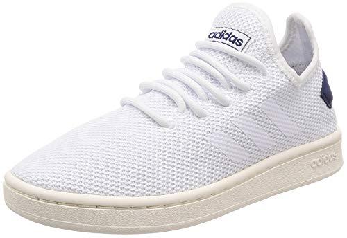 adidas Herren Court Adapt Tennisschuhe, Mehrfarbig Ftwbla/Azuosc 000, 42 EU - Court Herren Tennis Schuhe
