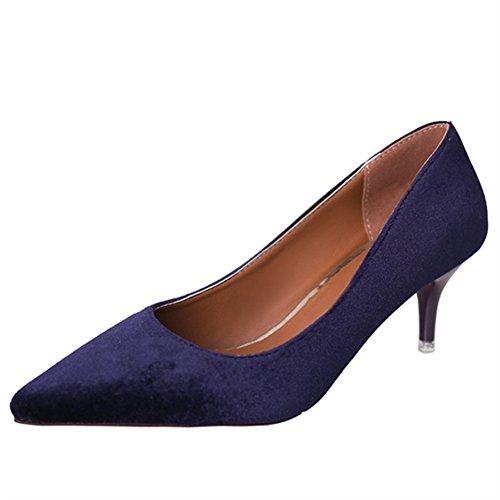 Fashion Lady chaussures printemps point lumineux/chaussures à talon haut stiletto/Chaussures de loisirs C