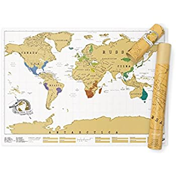 Luckies of london scratch map original personalised world map poster luckies of london scratch map original personalised world map poster travel gift gumiabroncs Image collections