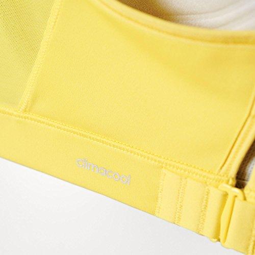 adidas Damen Sport-bh Asia Racerback gelb / schwarz