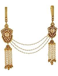 Anuradha Art Gold Finish Fancy Designer Methla Challa/Waist Key Chain Chabi Challa For Women/Girls