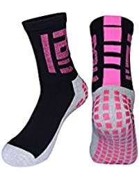 Leaproo Calcetines Deporte Mujer Calcetines de Fútbol Running Hombre Pack Calcetines Antideslizantes Calcetines Corto/Largos