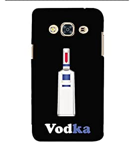 HiFi Designer Phone Back Case Cover Samsung Galaxy J3 Pro :: Samsung Galaxy J3 (2017) ( VodaKa Drink )