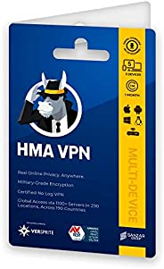 HMA VPN (5 Devices | 1 Month) (Premium Pro VPN) (PC, Mac, iOS, Android, Android TV, Linux, Routers) (Activatio