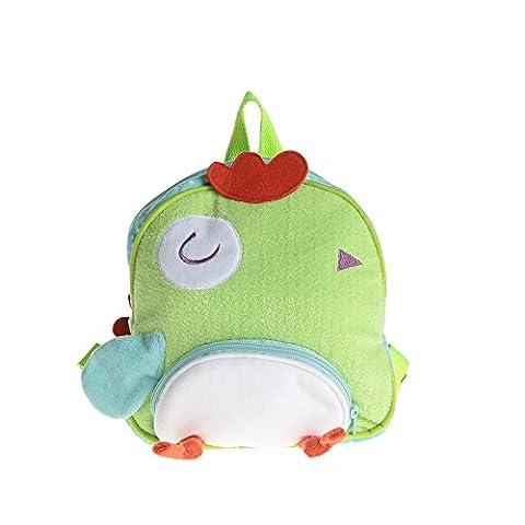 Le sac à dos Labebe Baby Girls avec leash pour ne pas perdre ses enfants, un joli harnais de sécurité pour bébé en âge pré-scolaire, portant des articles essentiels pour vos Lovely Kids - Poulet Jaune