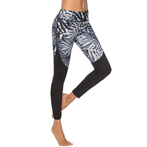 YpingLonk Frauen digital Bedruckte Yogahosen Sports Tight Sports Yoga Nine-Minute Pants Frau Digitaldruck Yoga Hosen Sport Leggings Strumpfhosen Sport Fitness Hosen Yoga Nine Pants -