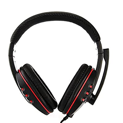 USB Over-Ear Earphones Bass Stereo Headphones Headset Earbuds With Microphone for pc gamer ps3 from NoyoKere