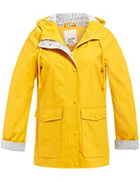 SS7 New Women's Waterproof Raincoat, Blue, Yellow Sizes 10 to 18