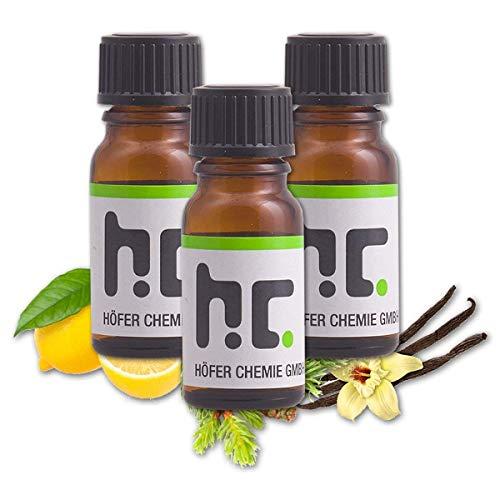 Höfer Chemie Duft Set 2 - mit 4 Düften - Vanille, Zitrone, Fichte, Kiefer -