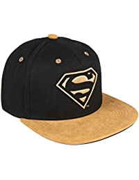 Superman Gorra plana dorado