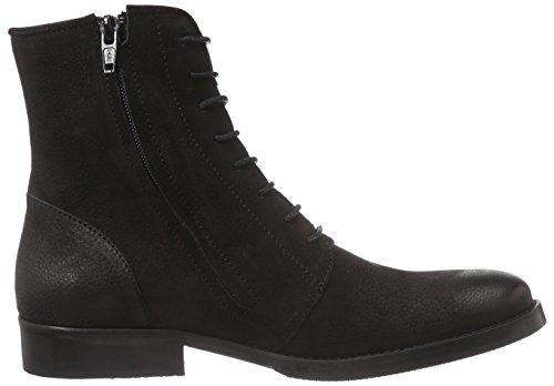 Mentor - Mentor Lace Boot, Stivali Donna Nero (Schwarz (Black Washed Nubuck))