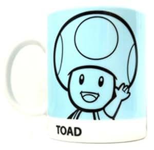 Nintendo Super Mario Tasse rétro Art Toad