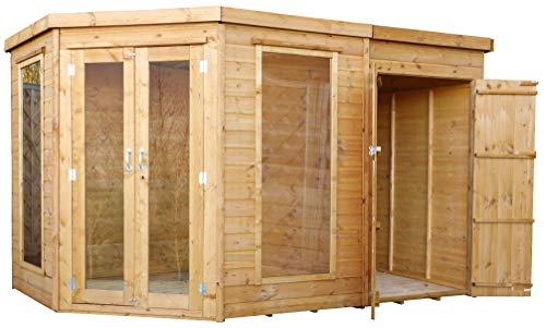 Green Planet UK - 11x7 Corner Summerhouse, Garden Cabinet for sale  Delivered anywhere in UK