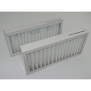 2 x Z-Line mit Kartonrahmen circa 410 x 160 x 48 mm G4 Vorfilter Filter für versch. Wärmerückgewinnungsanlagen WRG RLT Filterkassette Ersatzfilter
