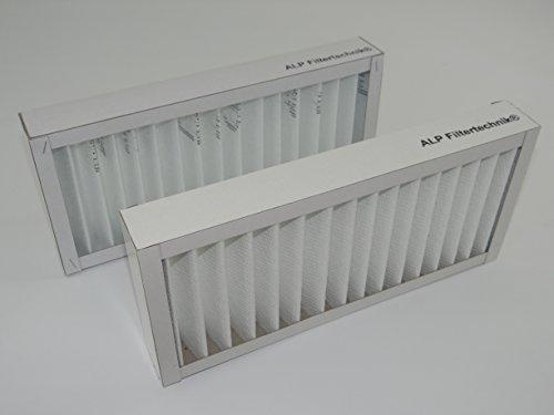 nrahmen circa 410 x 160 x 48 mm G4 Vorfilter Filter für versch. Wärmerückgewinnungsanlagen WRG RLT Filterkassette Ersatzfilter (Kartonrahmen)