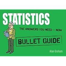Statistics: Bullet Guides (English Edition)