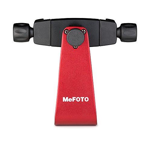 Handy Sidekick (MeFOTO MPH100R Side-Kick 360 Smartphone-Halter rot)