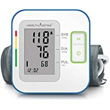 HealthSense Heart-Mate BP 100 Digital BP Monitor with Talking Function & Micro-USB port (Batteries Included)