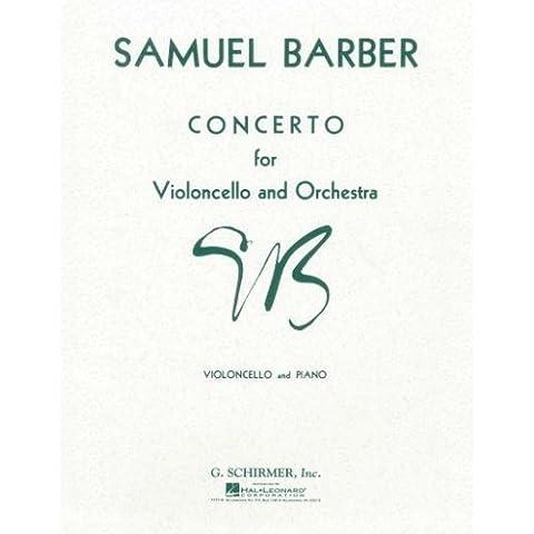 Barber: Cello Concerto Op.22 (Cello &