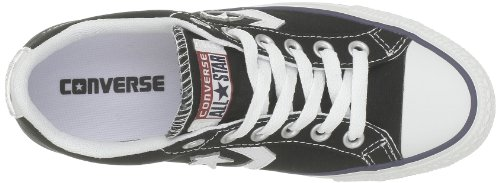 Converse Sp Core Canv Ox, Baskets mode mixte adulte Noir (Noir/Blanc)