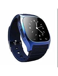 Smart watch Bluetooth Sportuhr Fitness armband,Ringing Erinnerung,Pulsmesser,Aussehen Vogue,Elegant LED,Aktivitätstracker,Pedometer,Elegant LED handy uhr,Sport Fitness Tracker für IOS und Android