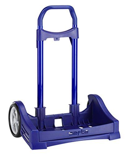 Safta Carro EVOLUTION Para Mochilas Escolares Plegable Ligero Resistente Diseño Único 400x280x850mm